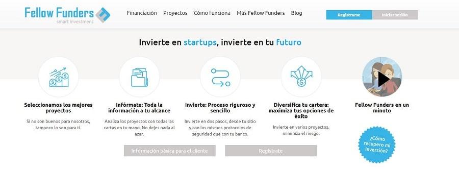 plataforma crowdfunding empresarial fellow funders