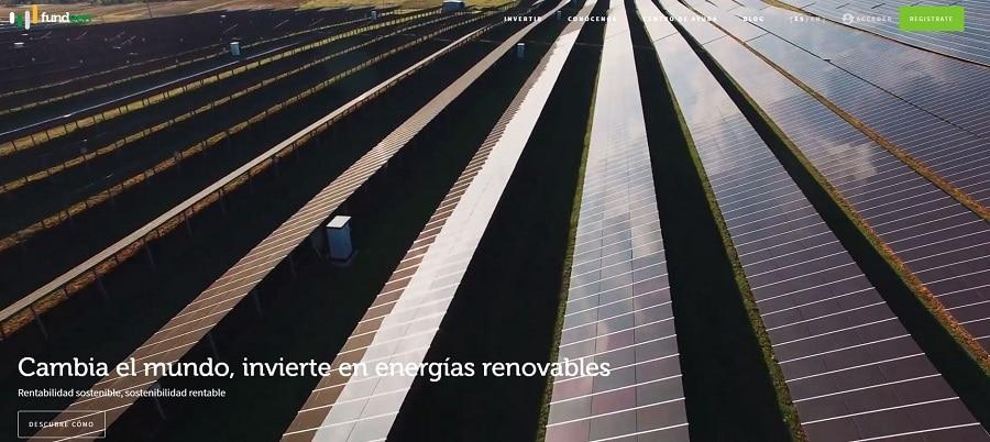 fundeen plataforma crowdfunding del sector empresarial enfocado en las energias renovables que merece la pena invertir