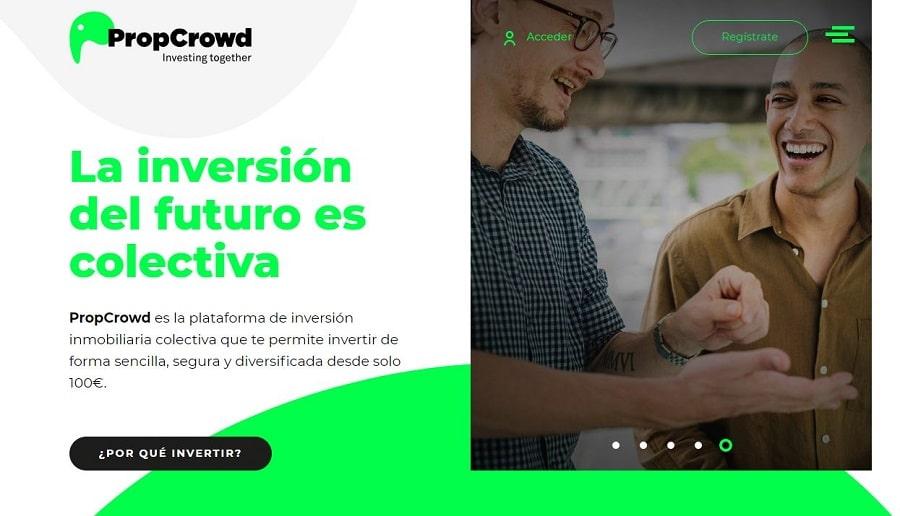 plataforma crowdfunding sector inmobiliario propcrowd